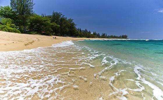 Secret Beach on Kauai