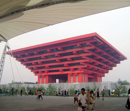 The China pavilion - Shanghai Expo