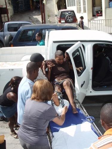 Evacuating a Patient