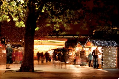 Christmas Markets in London, England