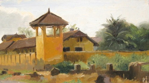 Colonial French Prison – Kampot, Cambodia