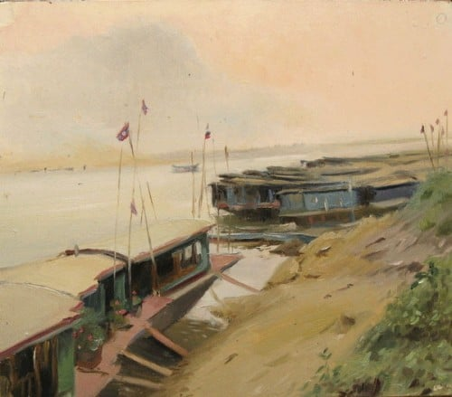 An Artist in Loas – Laos through the Eyes of a Painter