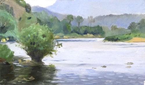 Nam Ou River at Nong-Khiaw, Laos