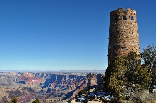 The Watch Tower at the Grand Canyon