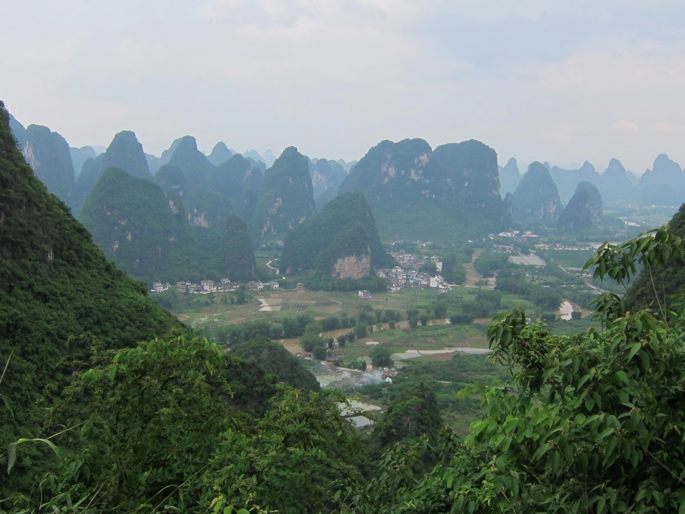 China view from Moon Hill