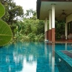 Gecko Villa and its private pool