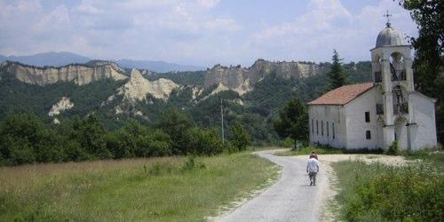 Rohzen Monastery Melnik Bulgaria