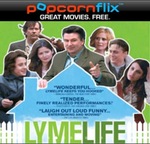 Screenshot of movie available on Popcornflix app