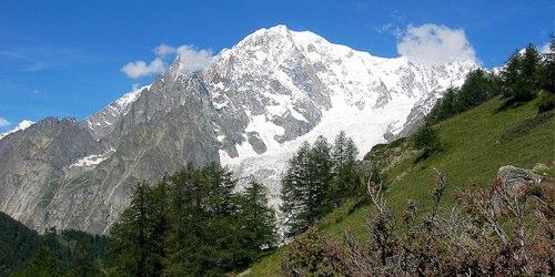 Monte Bianco - Sul sentiero verso il rifugio Bertone