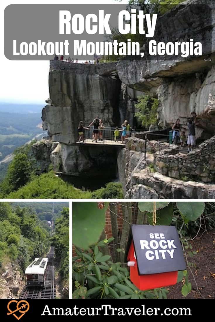 Rock City - Lookout Mountain, Georgia #travel #Georgia #Alabama #Tennessee #Chattanooga