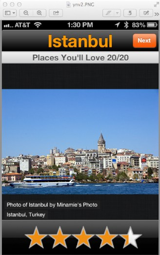 Istanbul is shown as a