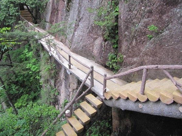 stairs, Mt. Huangshan