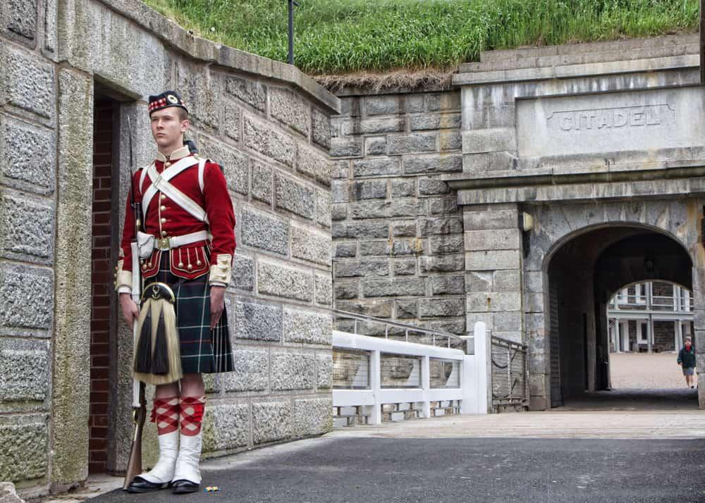 Keeping Guard at the Citadel - Halifax, Nova Scotia - Photo