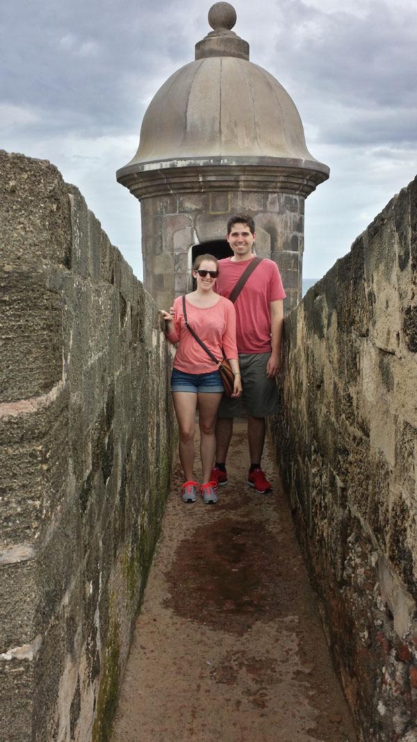 El Morro - San Juan, Puerto Rico | Puerto Rico Honeymoon Itinerary and Hotels | Things to do in Puerto Rico #travel #trip #vacation #Puerto-Rico #san-juan #honeyhmoon #things-to-do-in #itinerary #beaches #food #history