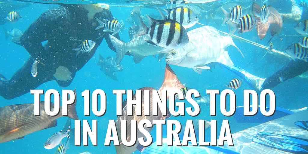 Top 10 Things to do in Australia