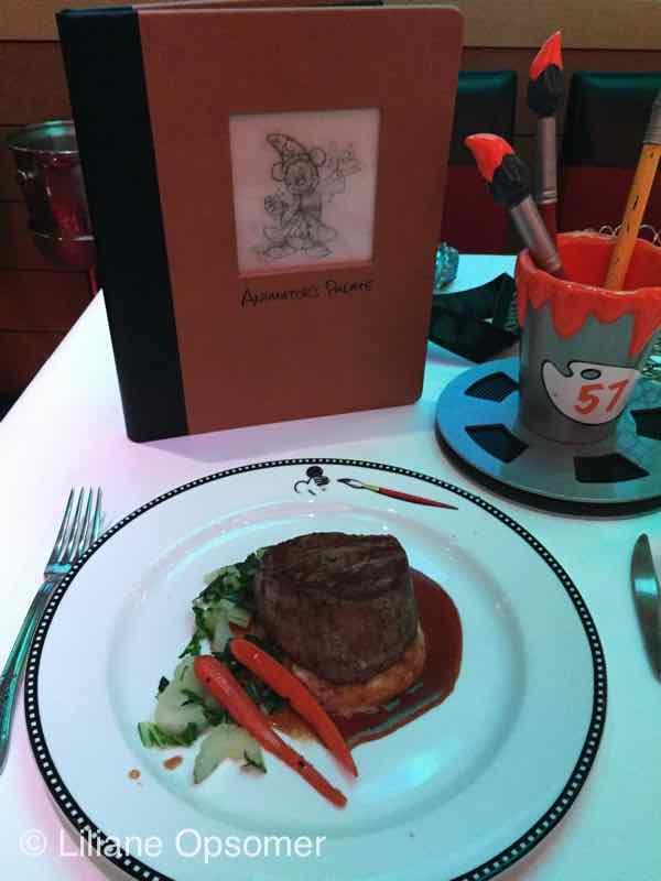 Animators Palate main dish Ginger-Teriyaki dusted Angus Beef Tenderloin
