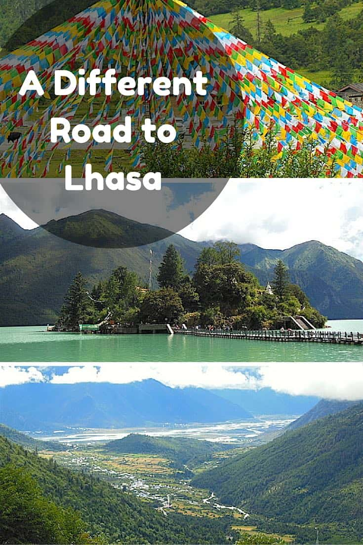 A Different Road to Lhasa. Taking a different route in Tibet in China #travel #trip #vacation #lhasa #tibet #china #itinerary