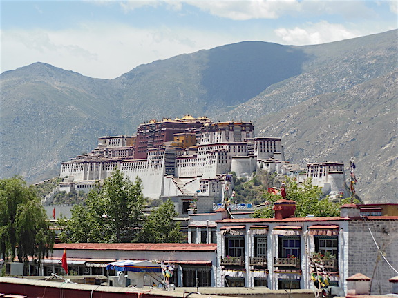 Jokhang Temple Roof