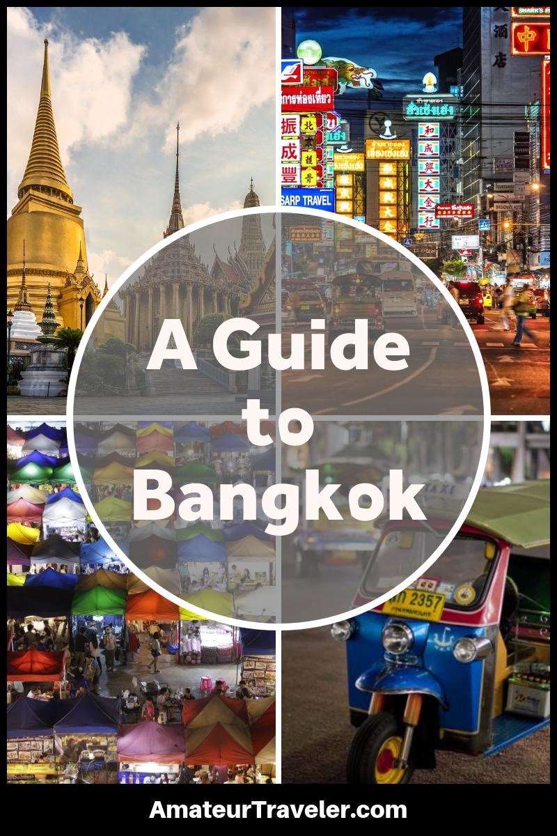 A Guide to Bangkok #travel #trip #vacation #bangkok #thailand #what-to-do-in #itinerary #tourism