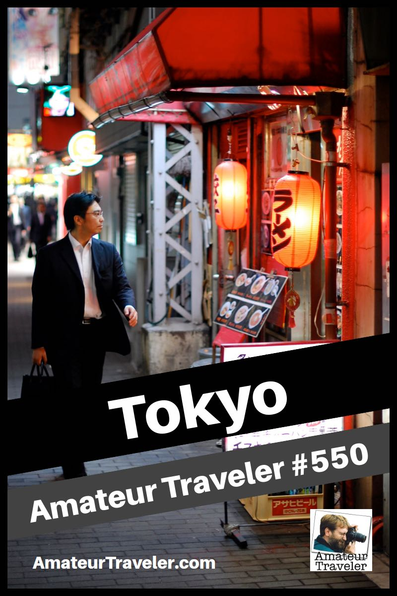 Travel to Tokyo - A One Week itinerary (Podcast)