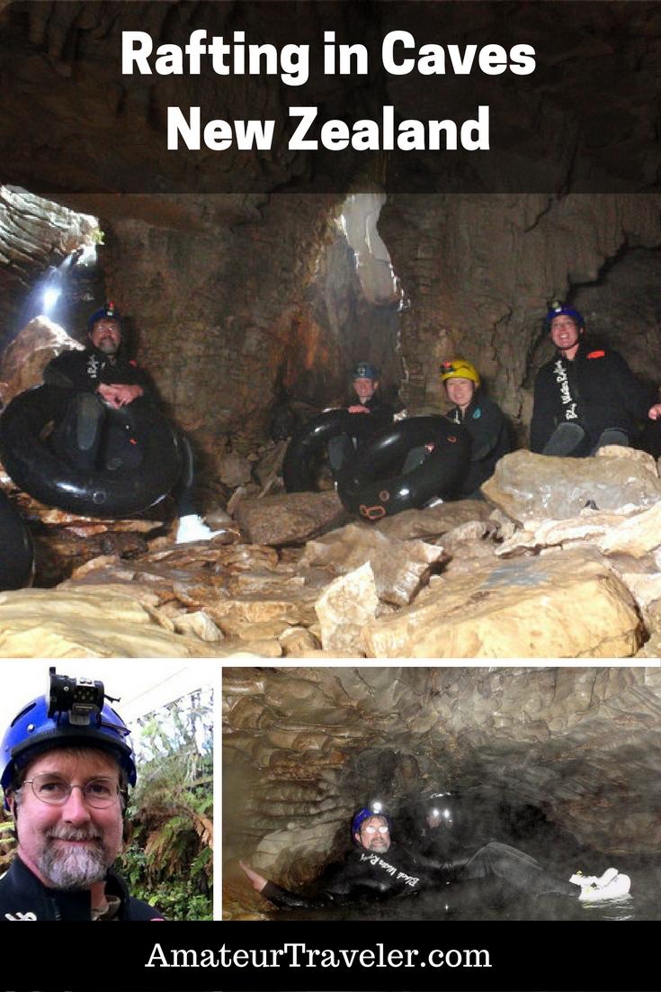Black Water Rafting (Rafting in Caves) in the Waitomo Caves - New Zealand #travel #adventure #rafting #newzealand