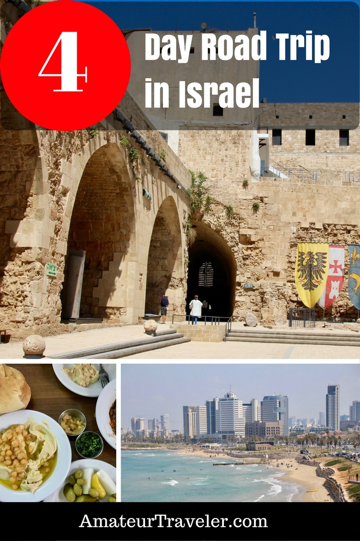 4 Day Road Trip in Israel - Biblical Sites, Ruins, Castles & Humus   What to see in Israel   What to do in Israel #israel #road-trip #itinerary #tel-aviv #jerusalem #acre #akko #haifa #nazereth #galilee #masada #what-to-do-in #cities #places #travel #trip #vacation #holy-land #history