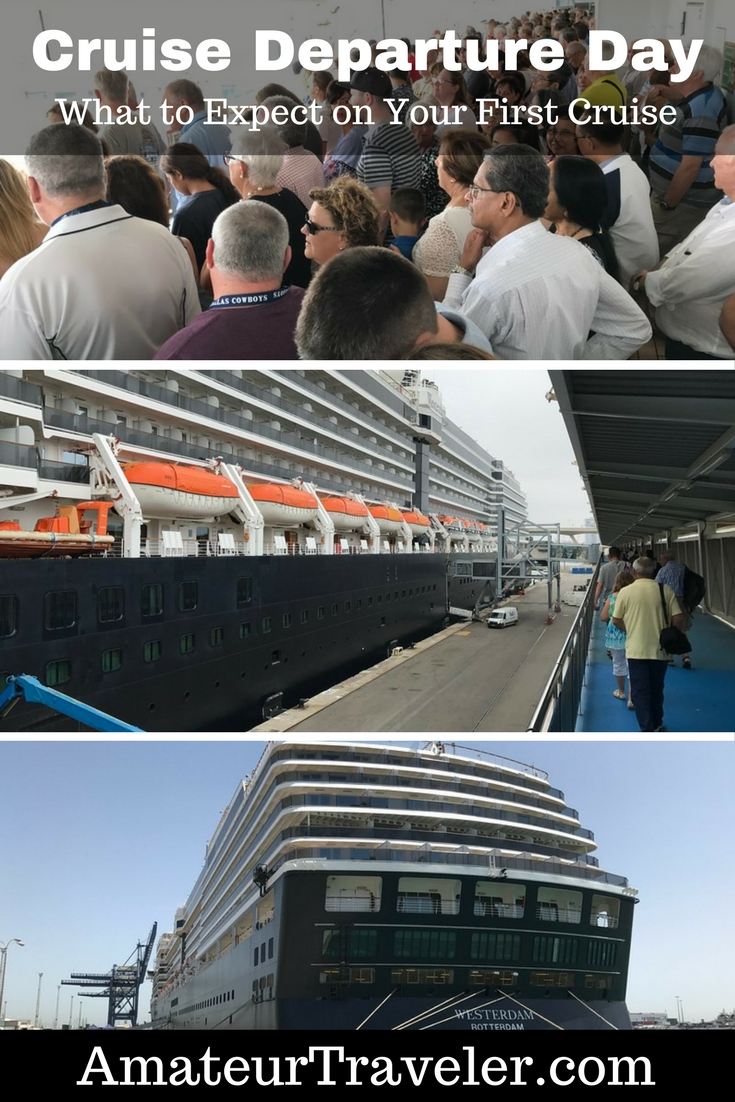 Cruise Departure Day - What to Expect on Your First Cruise #cruise #cruisetips #firsttime