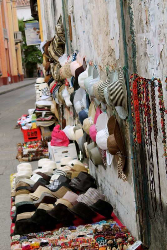 Wares in the Centro - Cartagena, Colombia