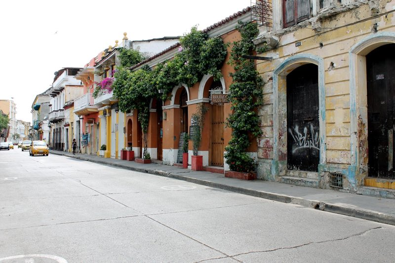 Street in Getsemaní - Cartagena, Colombia