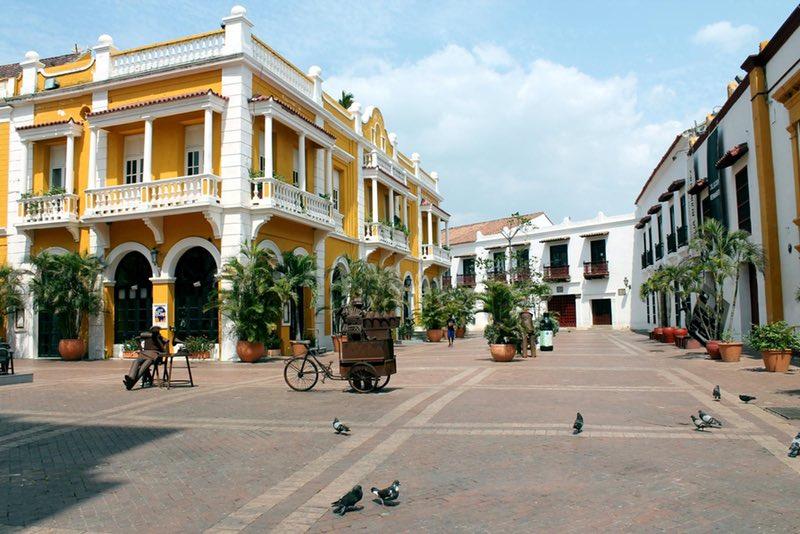 Plaza de San Pedro - Cartagena, Colombia