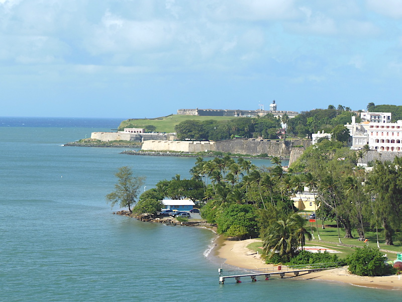 Fort in San Juan, Puerto Rico: December 26, 2016
