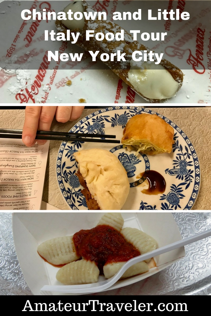 Ahoy Chinatown and Little Italy Food Tour - New York City