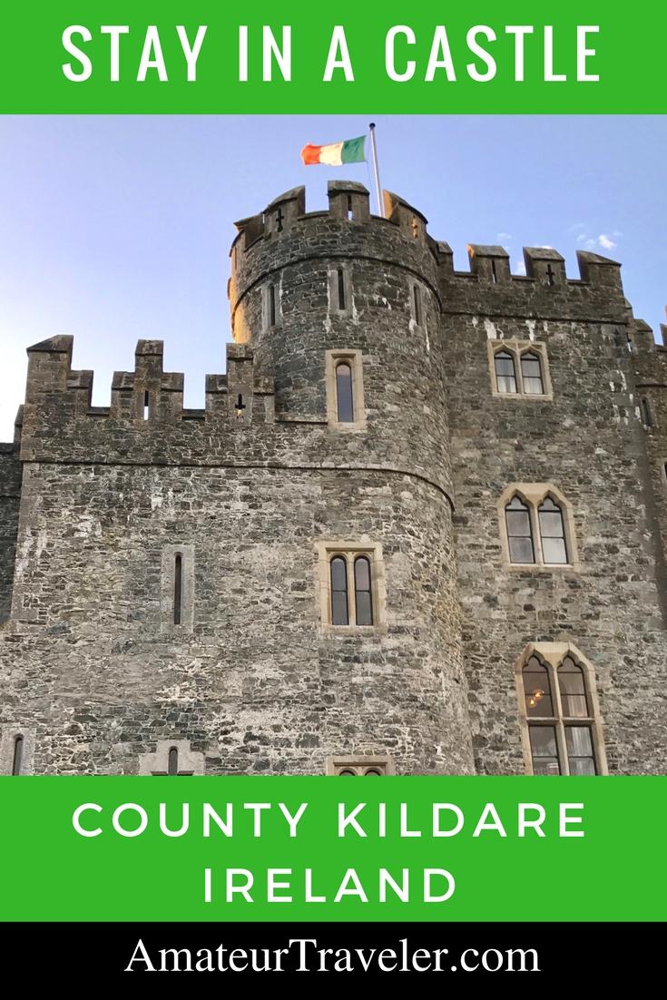 Stay in a Castle an hour from Dublin - Kilkea Castle in County Kildare, Ireland