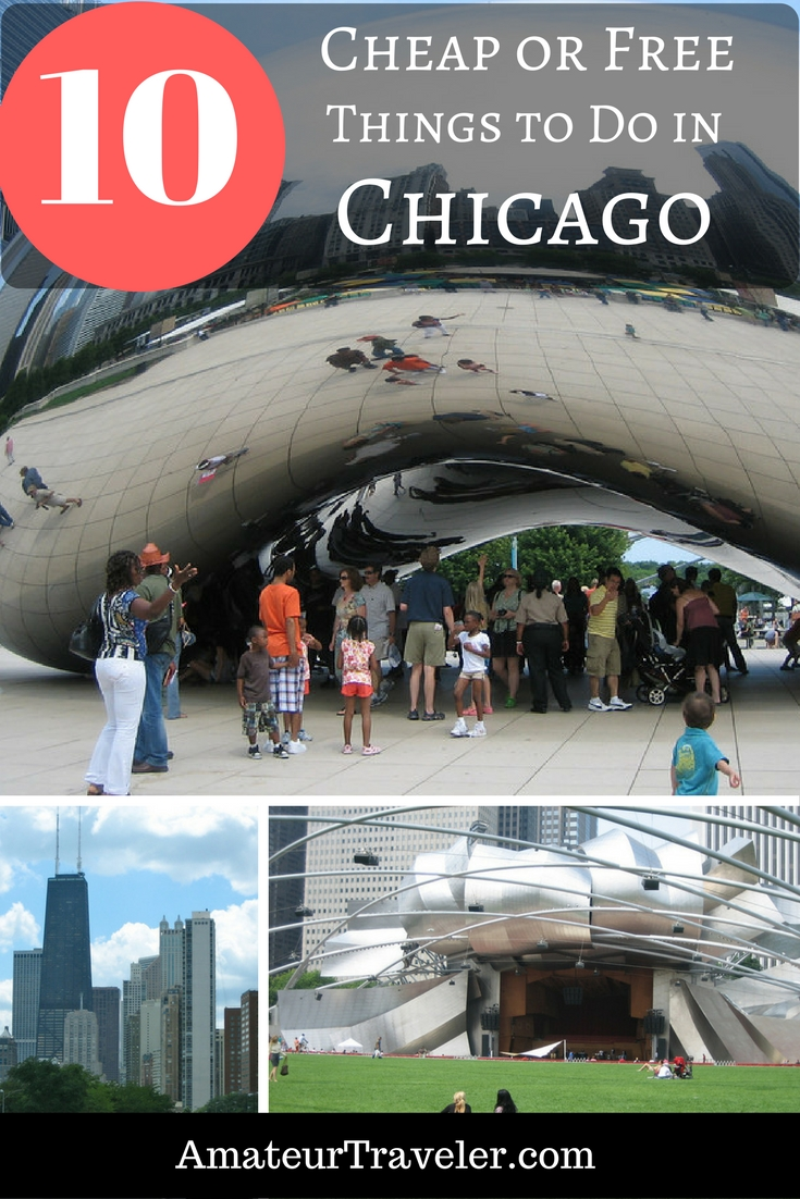 10 Free or Cheap Things to do in Chicago