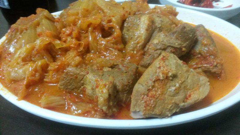 Kimchi jjim(?? ?)