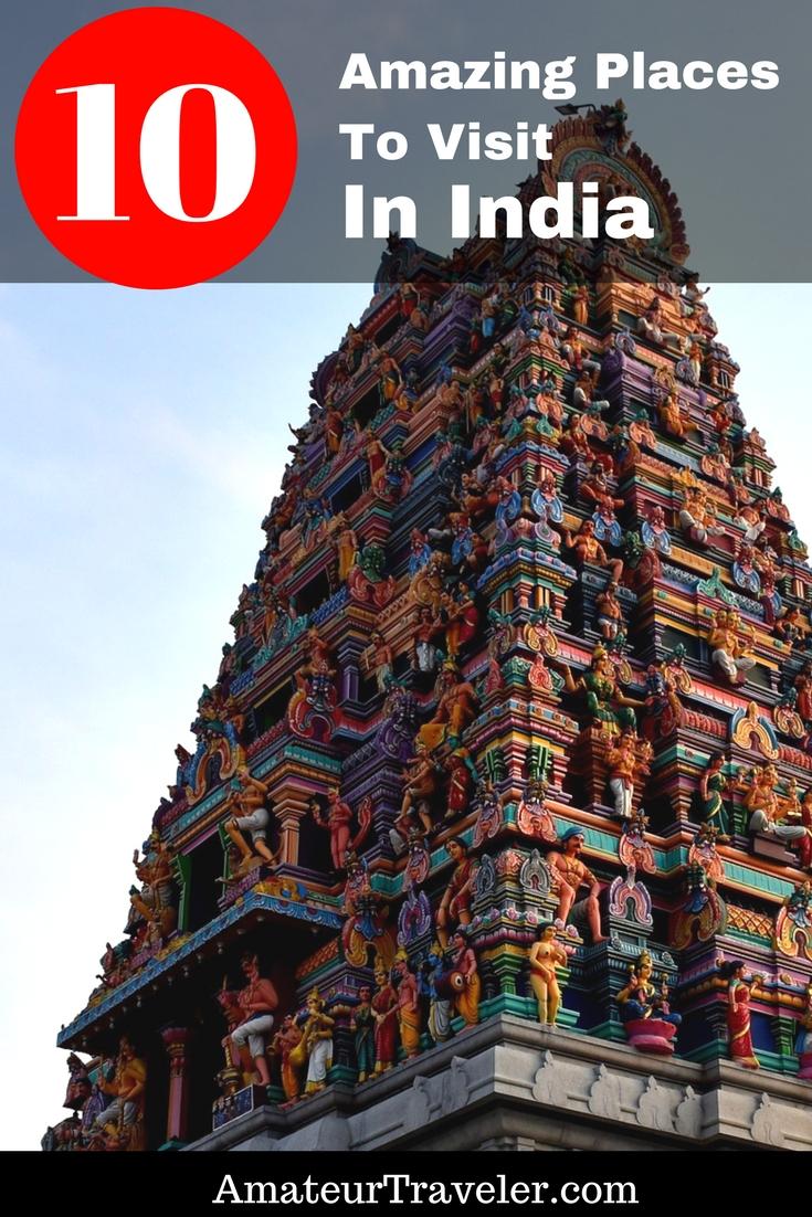 10 Amazing Places To Visit In India - Rishikesh, Kerala, Goa, Khajuraho, Dharamsala, Mysore, Bangalore, Coimbatore, Auli, Pune