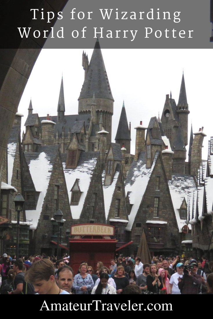 Tips for Wizarding World of Harry Potter
