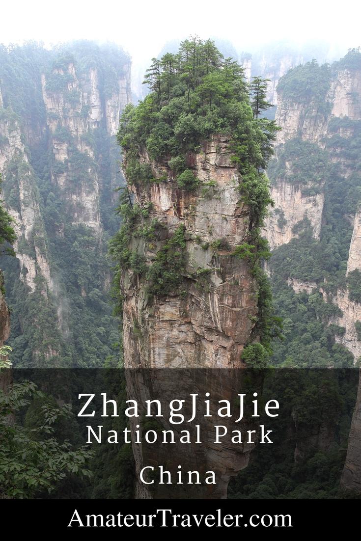 "ZhangJiaJie National Park – China's ""Avatar Mountains"""