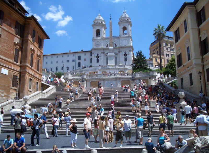The Spanish Steps - Rome