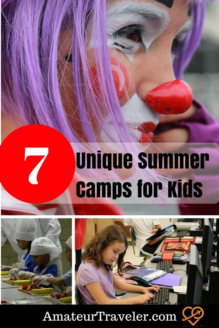 7 Unique Summer Camps for Kids