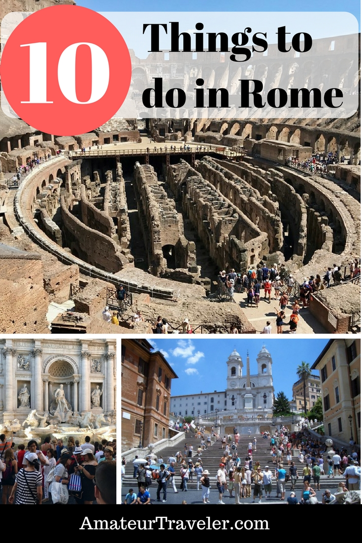 Top 10 Things to Do When in Rome, Italy #travel #tip #vacation #thingstodoin #rome #italy #planning