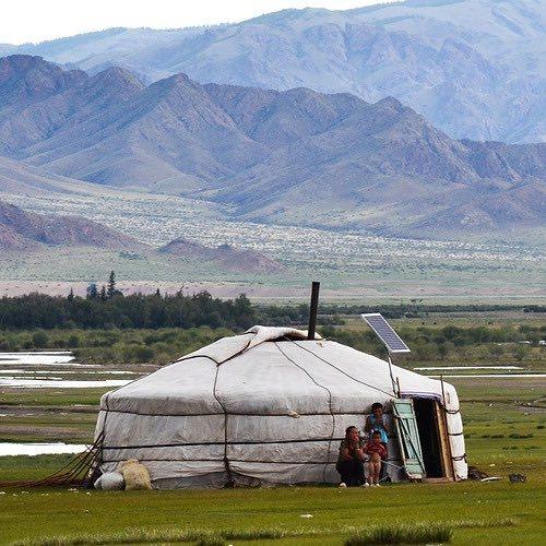 Warm Nights In A Mongolian Winter