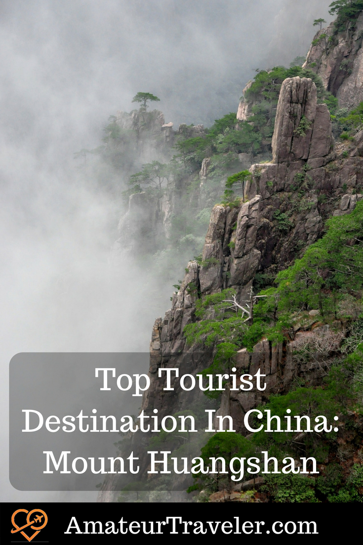 Top Tourist Destination In China: Mount Huangshan (Yellow Mountain). UNESCO World Heritage Site in southern Anhui province in eastern China. #china #travel #unesco
