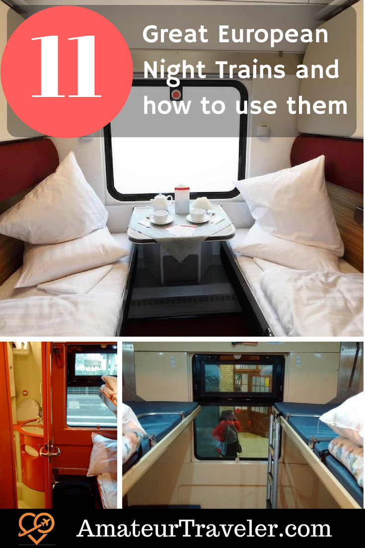 11 Exciting European Night trains and How to Use Them like a Pro #travel #trip #vacation #train #europe #night-train
