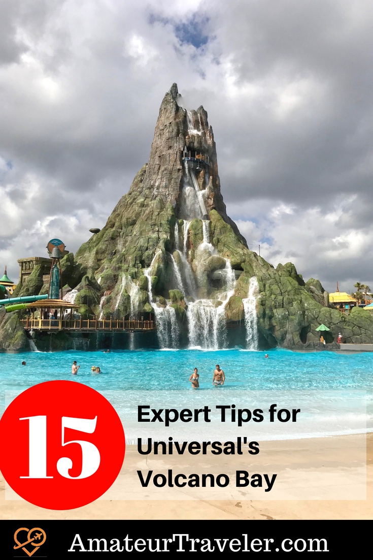 15 Expert Tips for Universal's Volcano Bay #travel #trip #vacation #florida #universal #orlando #volcano-bay #theme-park #tips #what-to-do-in