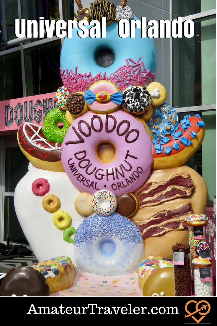 Fast and Furious and Voodoo Doughnuts - Universal Orlando Resorts