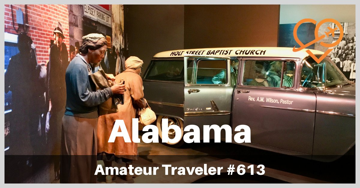 Travel to Alabama - An Epic Road Trip though the State of Alabama (Podcast)