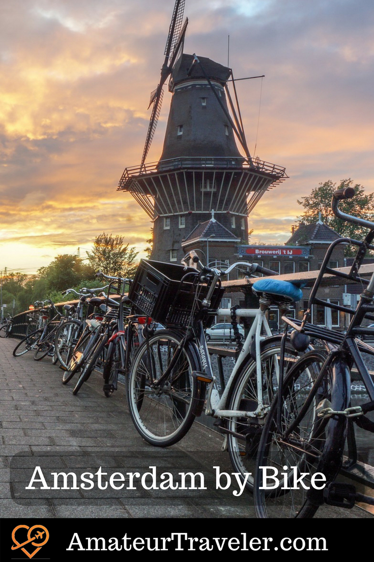 Amsterdam by Bike - A Dutch Experience #holland #netherlands #travel #bike #amsterdam
