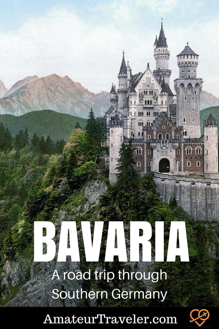 Road Trip through Bavaria in Southern Germany #travel #germany #bavaria #munich #roadtrip #castles