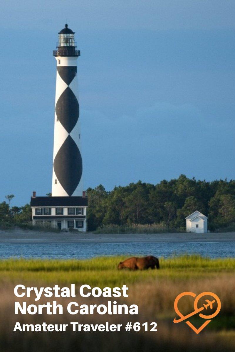 Travel to the Crystal Coast of North Carolina (podcast) - what to do, see and eat #travel #northcarolina #crystalcoast #beach